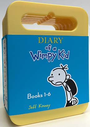 Diary of a Wimpy Kid: Audiobook Boxed Set