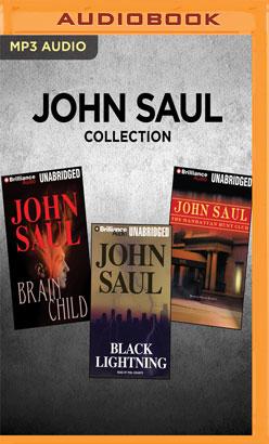 John Saul Collection - Brainchild, Black Lightning, The Manhattan Club