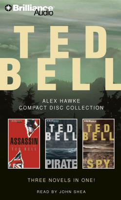 Ted Bell Alex Hawke CD Collection