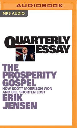 Quarterly Essay 74
