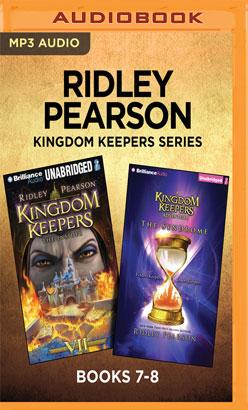 Ridley Pearson Kingdom Keepers Series: Books 7-8